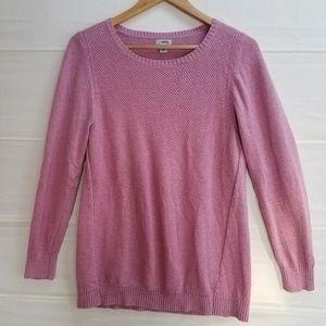 L.L. Bean Pink  Pullover Sweater